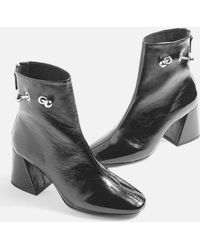 TOPSHOP - Mighty Ankle Boots - Lyst
