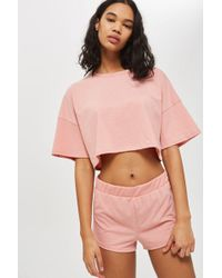 TOPSHOP - Soft Lounge Pyjama Set - Lyst