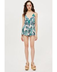 Love - Strappy Playsuit By - Lyst