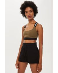 Ivy Park - Active Logo Elastic Bra By - Lyst