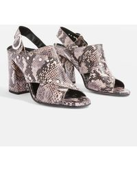 TOPSHOP - Nixie Studded Sandals - Lyst