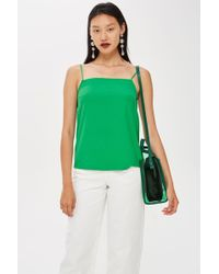 TOPSHOP - Tall Square Neck Camisole Top - Lyst