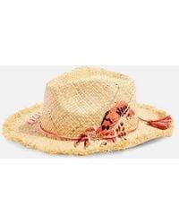 TOPSHOP - Lobster Straw Hat - Lyst