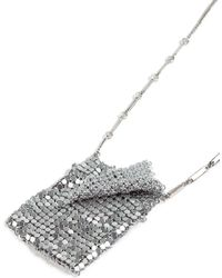 TOPSHOP - Chainmail Bag Necklace - Lyst