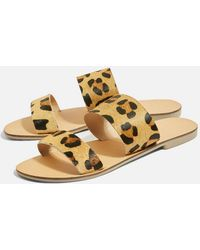 TOPSHOP - Hush Two Strap Sandals - Lyst