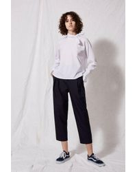 TOPSHOP - Poplin Neckerchief Blouse By Boutique - Lyst