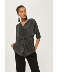 Y.A.S | Plisse Wrap Top By Yas | Lyst