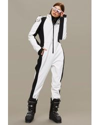 TOPSHOP - Long Sleeve Ski Suit - Lyst