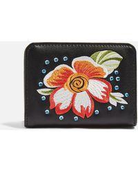 TOPSHOP - Scilla Embroidered Gem Oyster Holder - Lyst