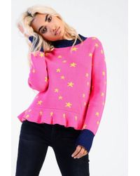 Glamorous - star Knitted Jumper By - Lyst
