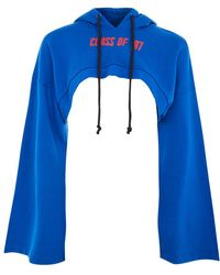 Jaded London - Class Of 97' Print Cropped Hoodie By - Lyst