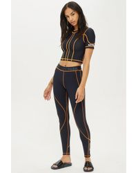 Ivy Park - Active Stitch Leggings By - Lyst