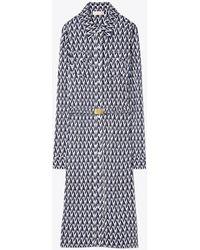 Tory Burch - Crista T-print Shirt Dress - Lyst