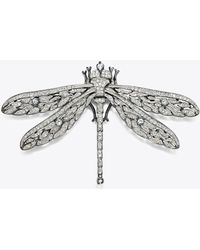 Tory Burch - Kenneth Jay Lane For Dragonfly Pin - Lyst