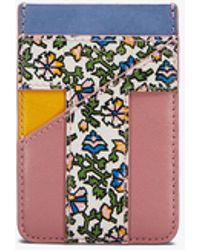 Tory Burch - Color-block Card Pocket - Lyst