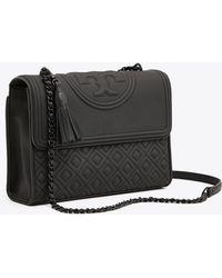 Tory Burch - Fleming Matte Convertible Shoulder Bag | 001 | Shoulder Bags - Lyst