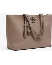 4ab7f09d67c98 Tory Burch Pink Mcgraw Slouchy Bag in Pink - Lyst