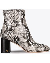 Tory Burch - Brooke Embossed Bootie - Lyst
