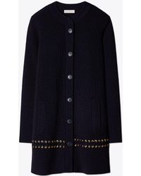 Tory Burch - Harley Sweater Coat - Lyst