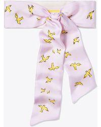 Tory Burch - Early-bird Silk Necktie - Lyst