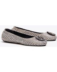 98d102866 Tory Burch - Minnie Travel Ballet Flats
