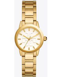 Tory Burch - Gigi Watch, Gold-tone/ivory, 28 Mm - Lyst