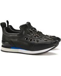 19748176f346ff Tory burch Quilted Denim Sneaker in Blue