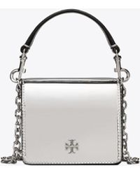 Tory Burch - Cleo Metallic Mini Cross-body - Lyst