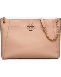 Tory Burch - Mcgraw Chain-shoulder Slouchy Tote - Lyst