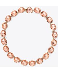 Tory Burch - Riviere Necklace - Lyst
