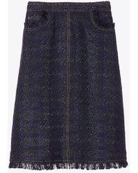 Tory Burch - Aria Tweed Skirt - Lyst