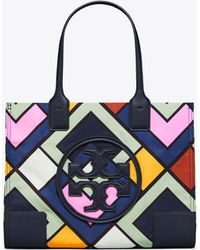 Tory Burch - Ella Printed Mini Tote - Lyst