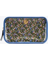 Tory Burch - Floral Cosmetic Case - Lyst
