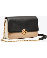 Tory Burch - Chelsea Color-block Convertible Chain Shoulder Bag - Lyst