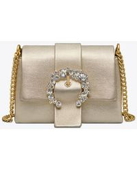 18ba3531c800 Britten Convertible Clutch Blue.  195. The RealReal · Tory Burch - Greer  Metallic Mini Bag - Lyst