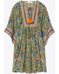 Tory Burch - Embroidered Beach Tunic - Lyst