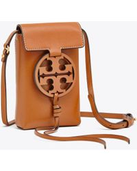 0790d159592a Tory Burch Alexa Mini Shoulder Bag Aged Vachetta - Lyst