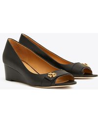 bad3d83b0 Lyst - Women s Tory Burch Wedge pumps On Sale