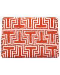 Tory Burch | T-tile Cosmetic Case | Lyst