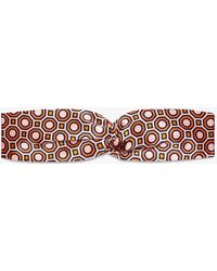 Tory Burch - Octagon Headband - Lyst