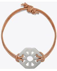 Tory Burch - Geo Leather Bracelet - Lyst