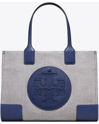 2e30c68fae8 Lyst - Tory Burch Nautical Canvas East Coast Tote