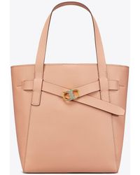 Tory Burch - Gemini Link Leather Tote - Lyst