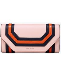 Tory Burch - Geo Envelope Continental Wallet - Lyst
