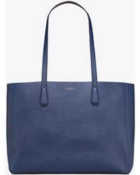 d71dfcfd3b Tory Burch Perry Tote - Cloud/tory Navy in Blue - Lyst