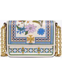 Tory Burch - Kira Floral Mini Bag - Lyst