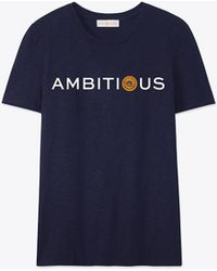 Tory Burch - Embrace Ambition T-shirt - Lyst