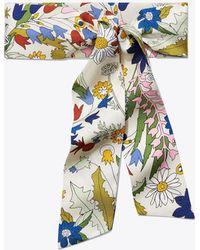 Tory Burch - Meadow Folly Silk Necktie - Lyst