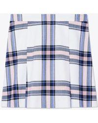 Tory Sport - Performance Plaid Golf Skirt - Lyst