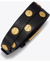 Tory Burch - Double-wrap Logo Stud Bracelet - Lyst